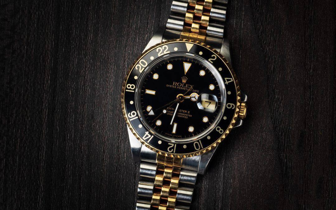 Rolex GMT Master II in oro e acciaio Ref. 16713
