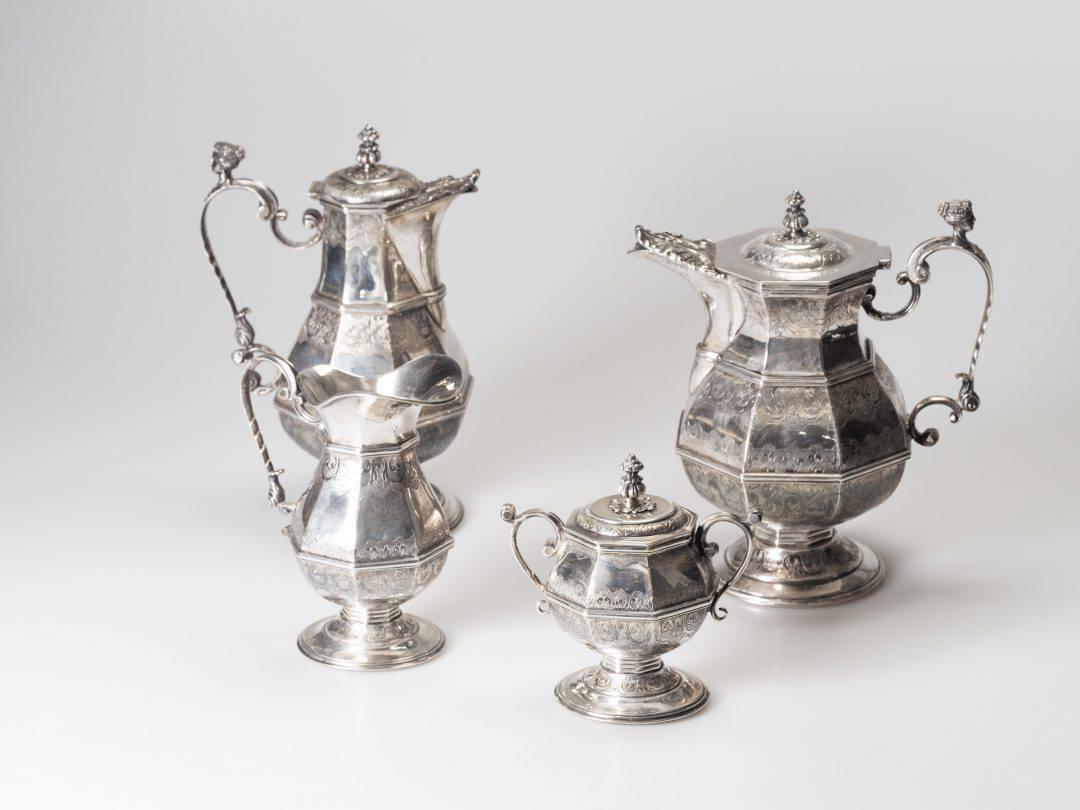 Servizio da Tè in argento