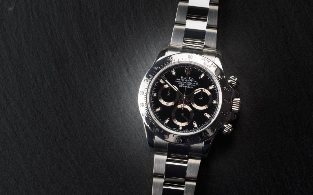 Rolex Daytona in acciaio Chromalight Ref. 116520