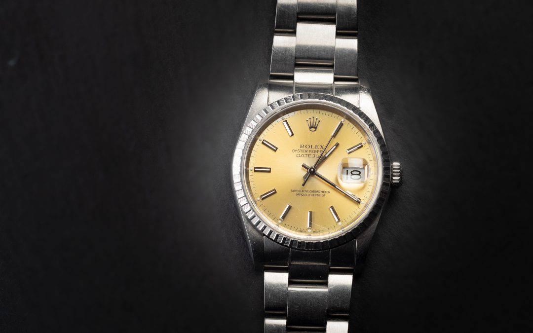 Rolex Date Just in acciaio Ref. 16220