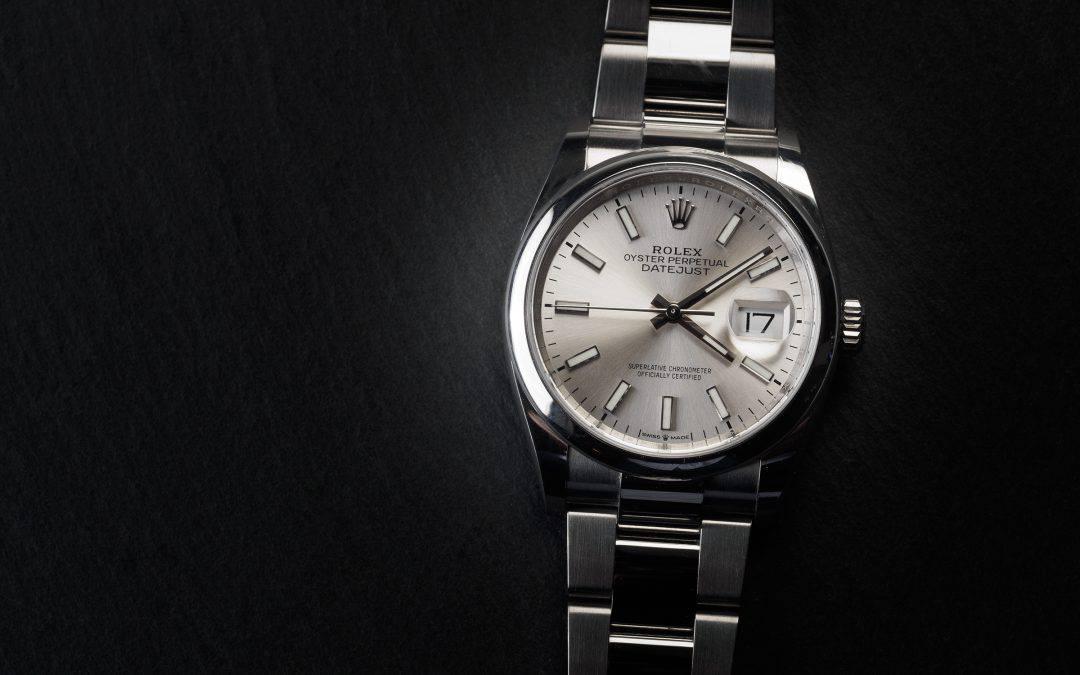 Rolex Date Just in acciaio Ref. 126200.