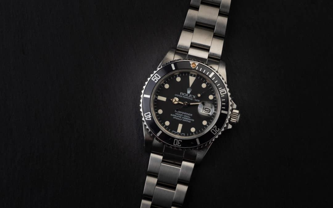Rolex Submariner Date in acciaio Ref. 16800