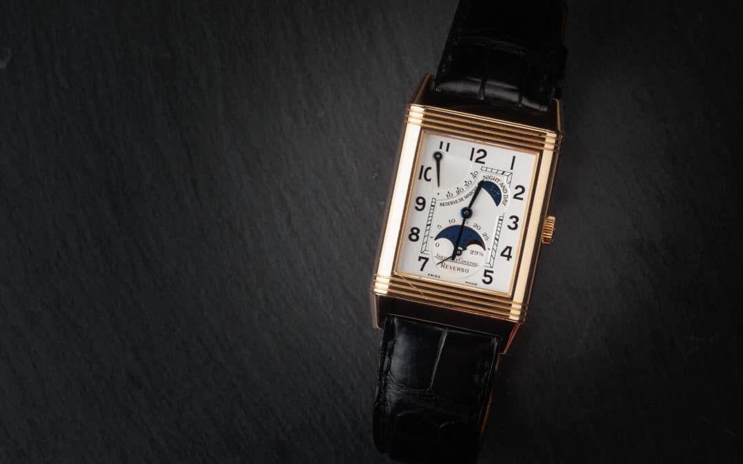 Jaeger Le Coultre Reverso in oro rosa Ref. 270.2.63