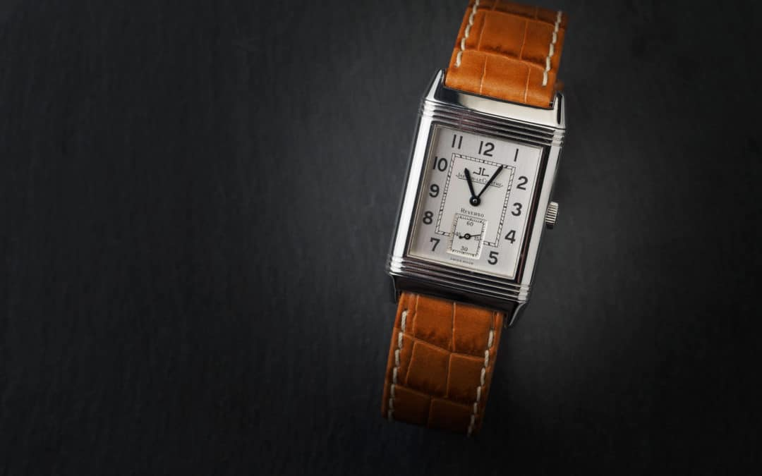 Jaeger Le Coultre Reverso Gran Taille in acciaio Ref. 270.8.62