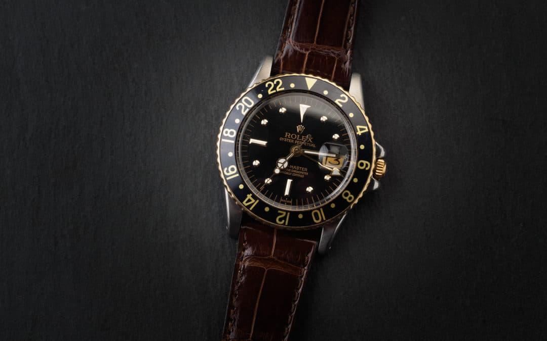 Rolex GMT Master in oro e acciaio Ref. 1675
