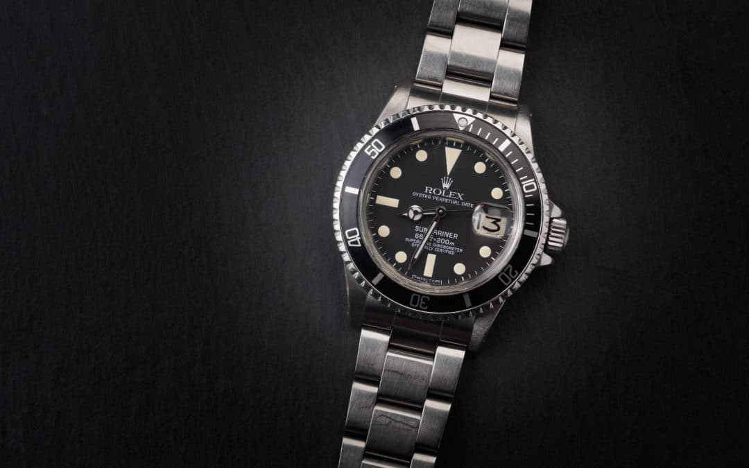 Rolex Submariner Date Plexi Ref. 1680