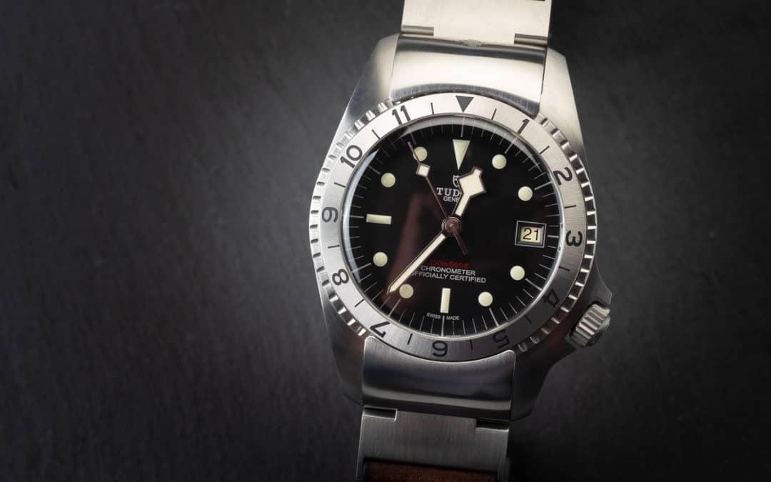 Tudor Black Bay P01 in acciaio Ref. 70150