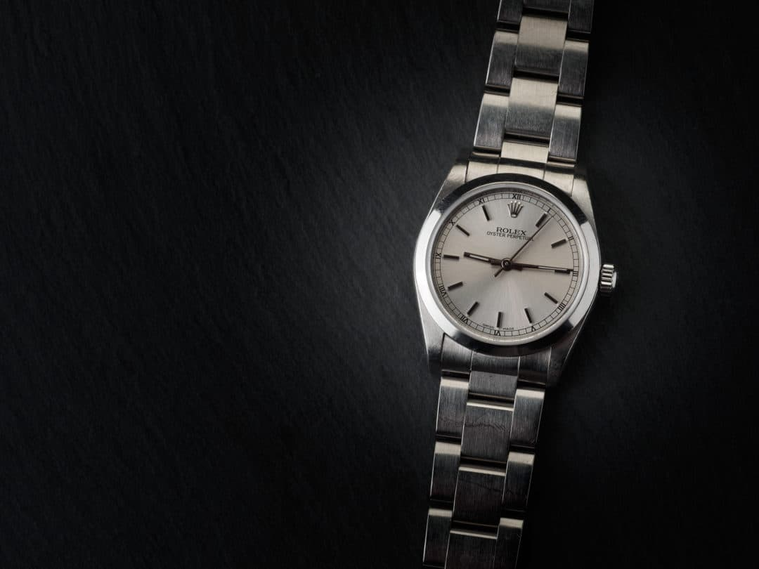 Rolex Oyster Perpetual in acciaio Ref. 77080