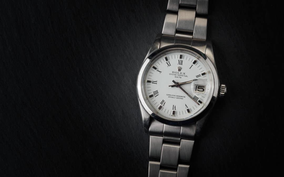 Rolex Date in acciaio Ref. 1500.