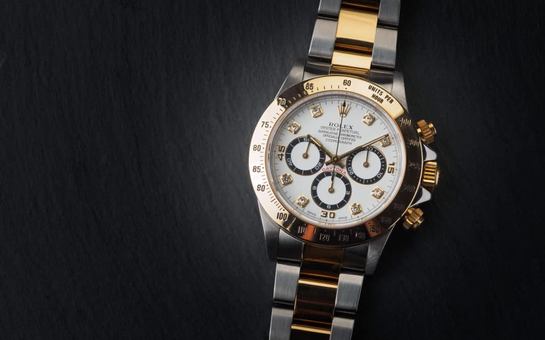 Rolex Daytona in oro e acciaio con diamanti Ref. 16523