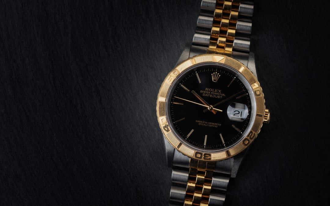 Rolex Turn-o-Graph in oro e acciaio Ref. 16263