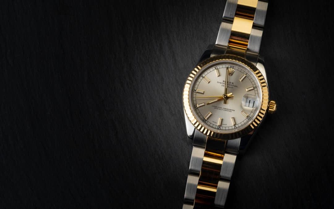 Rolex Date Just 31mm  in oro e acciaio Ref. 178273