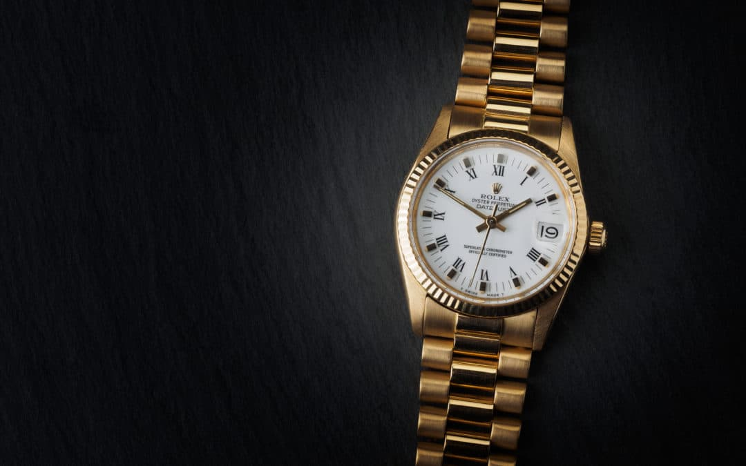 Rolex Date Just 31mm in oro giallo 18kt Ref. 6827