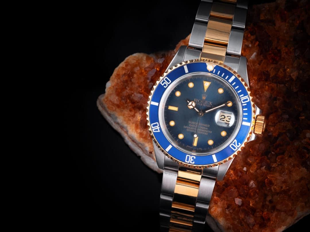 Rolex Submariner Date in oro e acciaio Ref. 16613