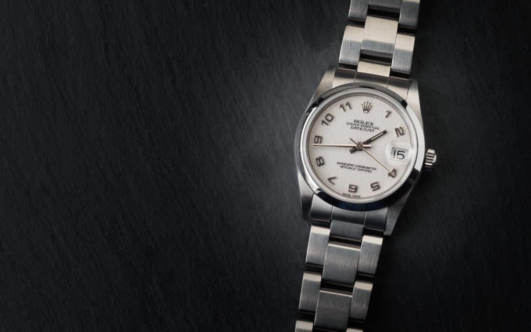 """Rolex Date Just """"Boys"""" in acciaio Ref. 68240"""