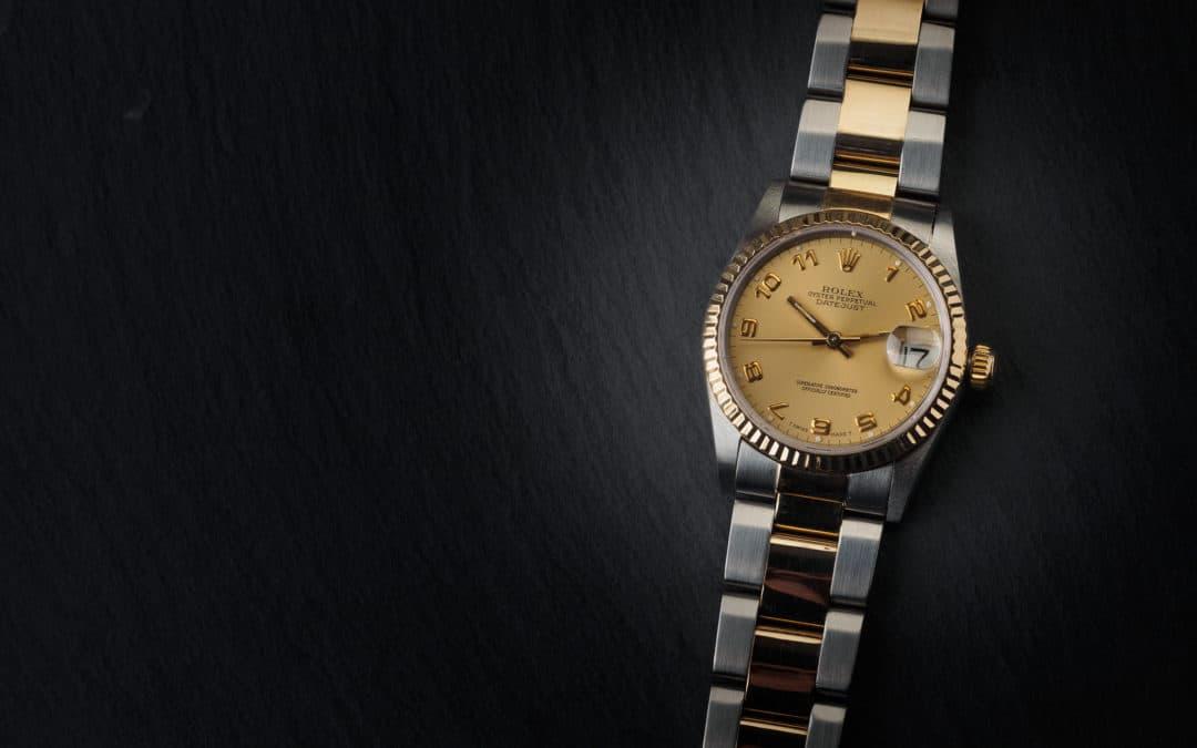 """Rolex Date Just """"Boys"""" in oro e acciaio Ref. 68273"""