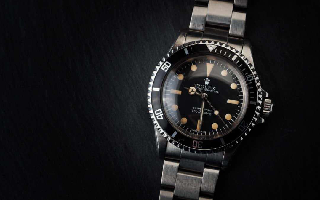 Rolex Submariner in acciaio Ref. 5513
