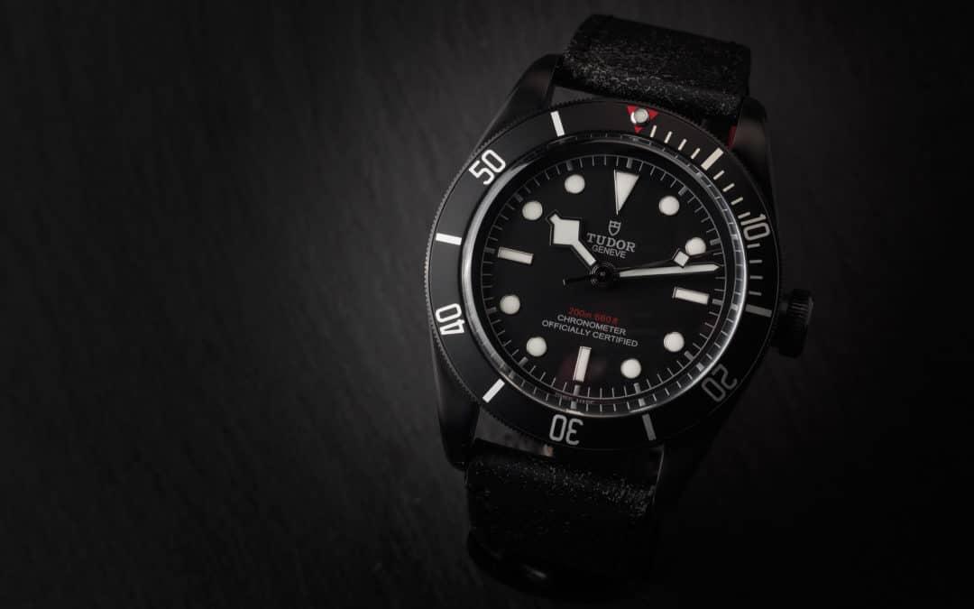 Tudor Heritage Black Bay PVD Ref. 79230DK
