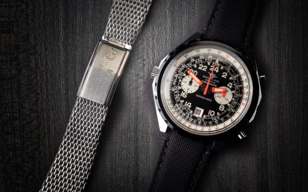 Breitling Cosmonaute in acciaio Ref. 1809