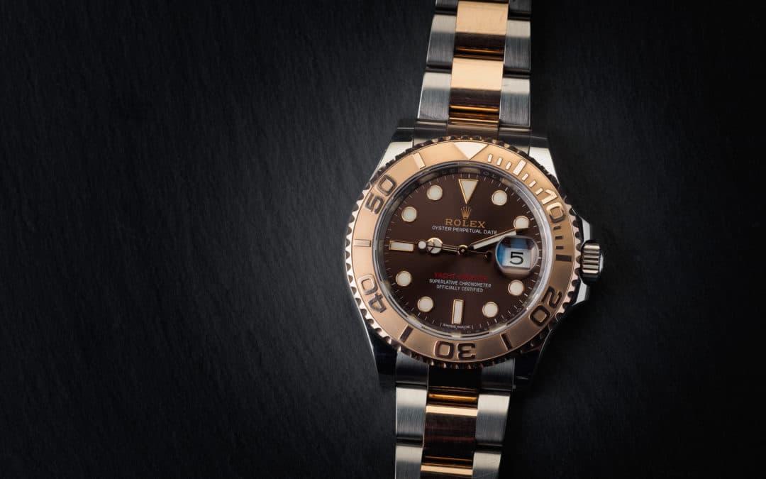 Rolex Yachtmaster in oro rosa e acciaio Ref. 116621