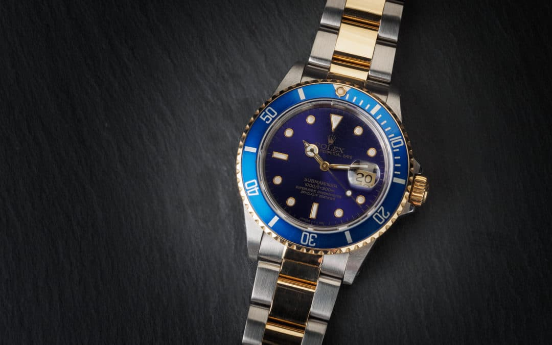 Rolex Submariner Date in oro e acciaio Ref. 16803