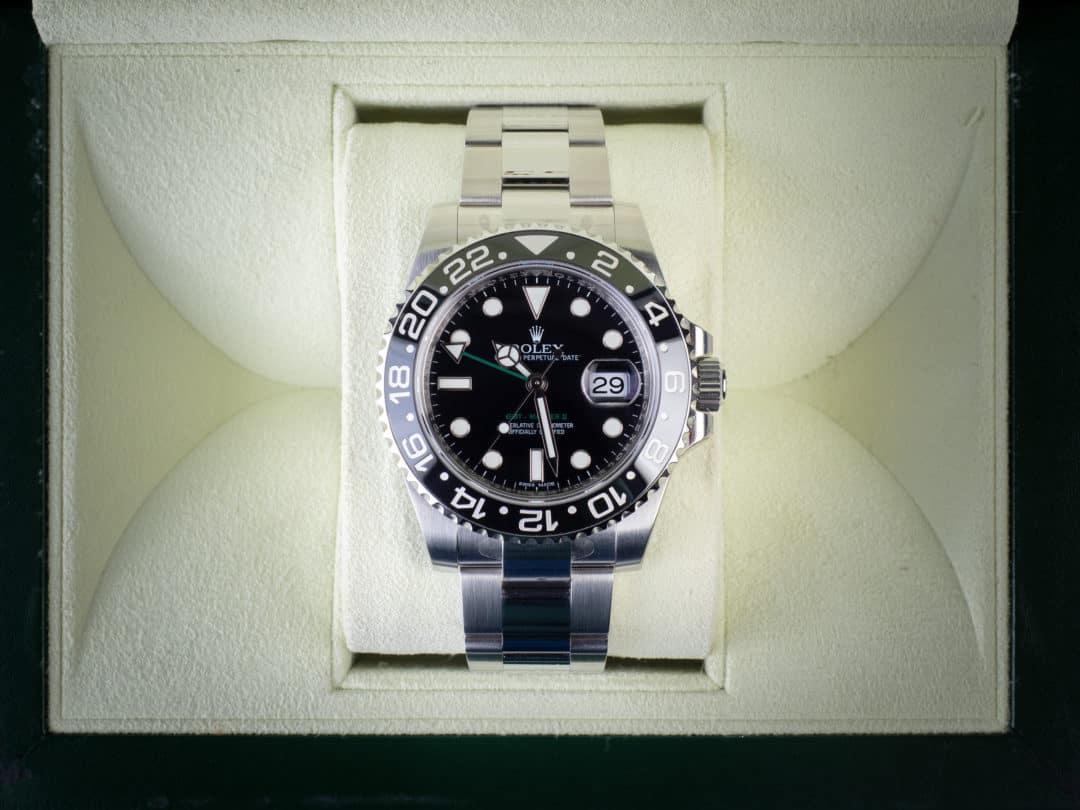 Rolex GMT Master II in acciaio ceramica NOS Ref. 116710LN