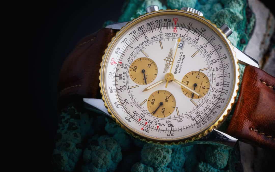 Breitling Navitimer in oro e acciaio Ref. 81611