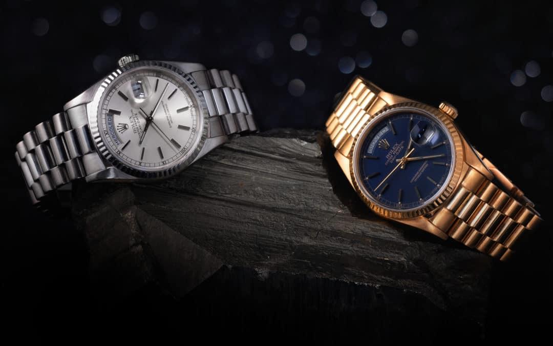 Collezione Rolex DayDate in oro.