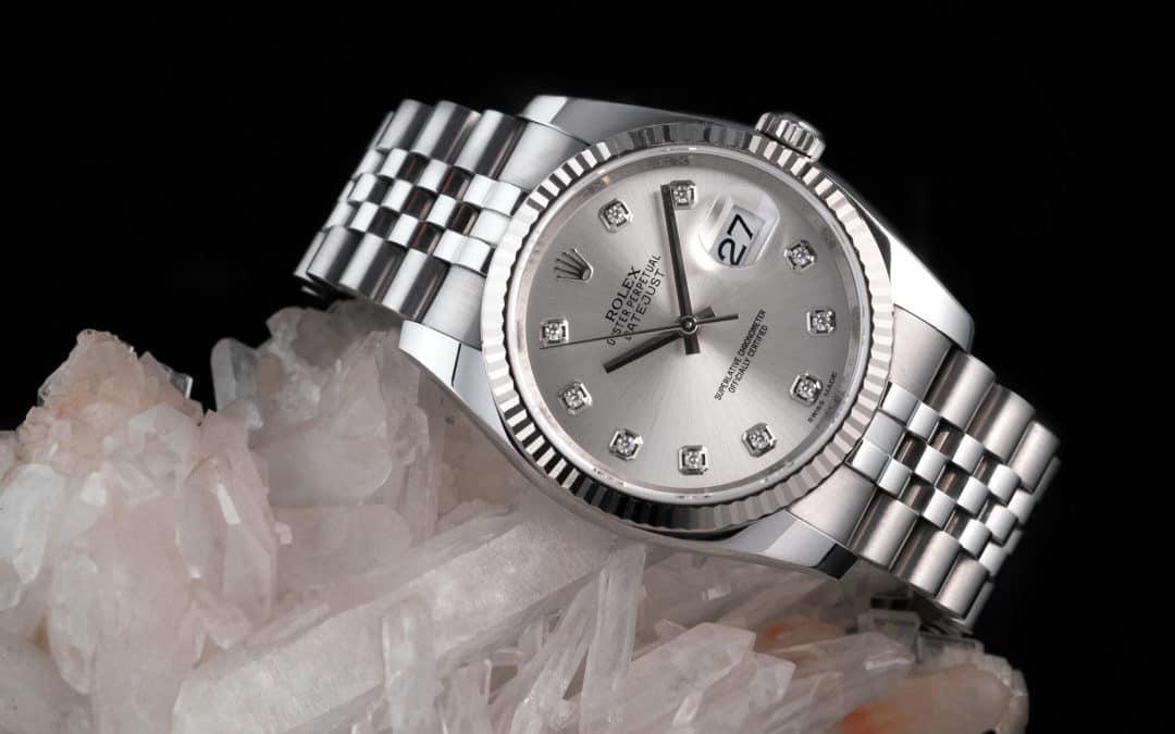 Rolex Date Just in acciaio Ref. 116234