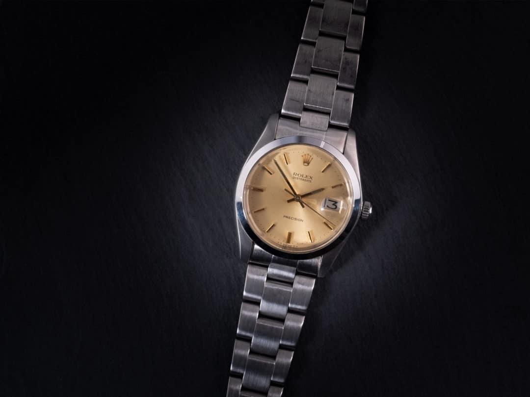 Rolex Oysterdate Precision in acciaio Ref. 6694