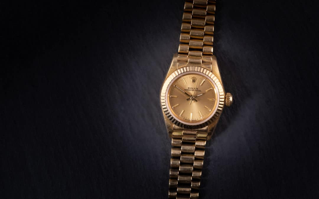 Rolex Lady Oysterperpetual in oro giallo Ref. 67198