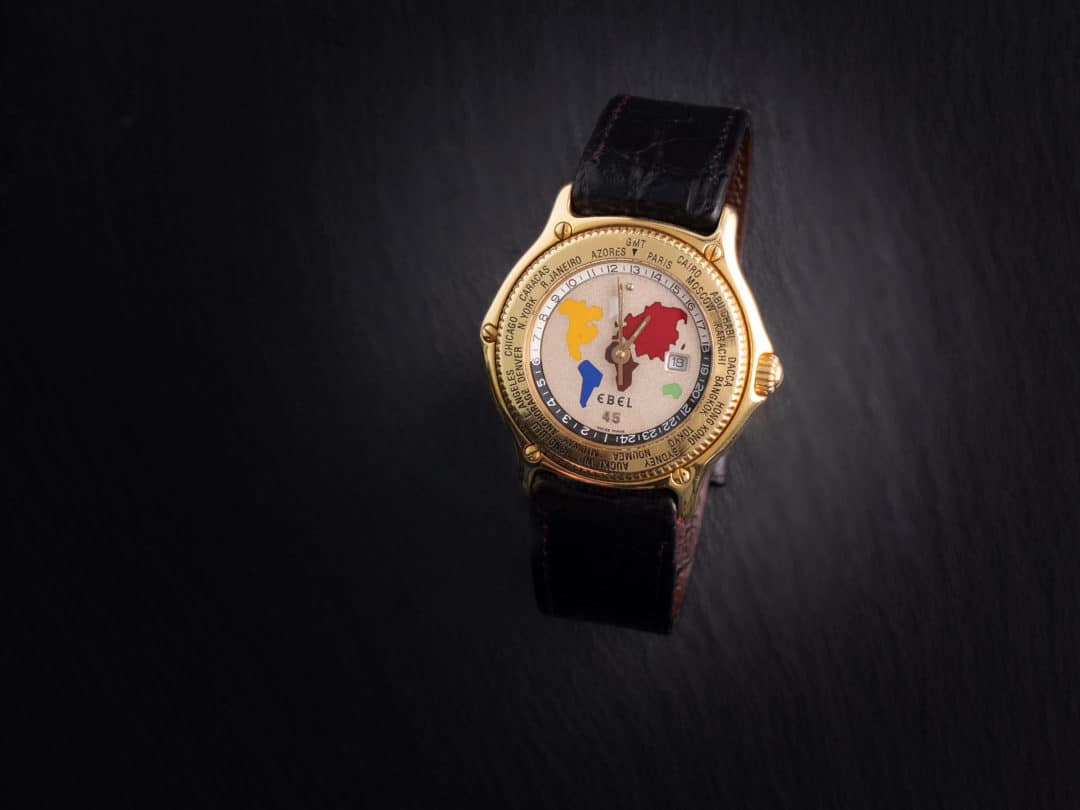 Ebel Voyager GMT World Time in oro giallo Ref. 8124913