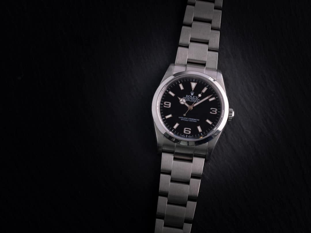 Rolex Explorer I in acciaio Ref. 114270