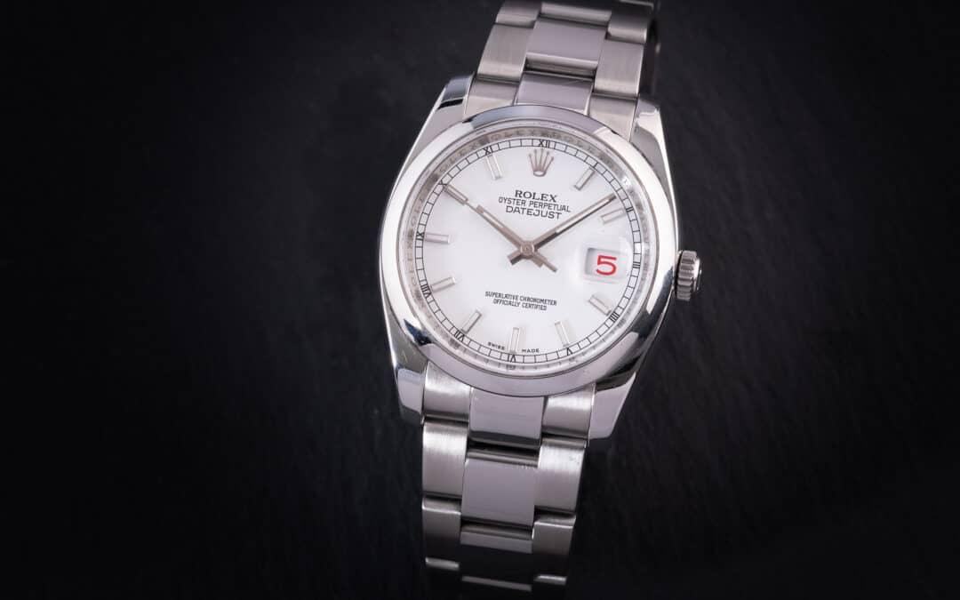 Rolex Date Just in acciaio Ref. 116200