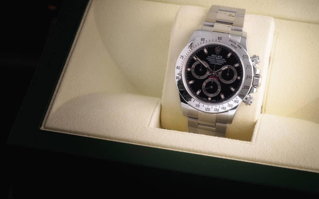 Rolex Daytona in acciaio Ref. 116520