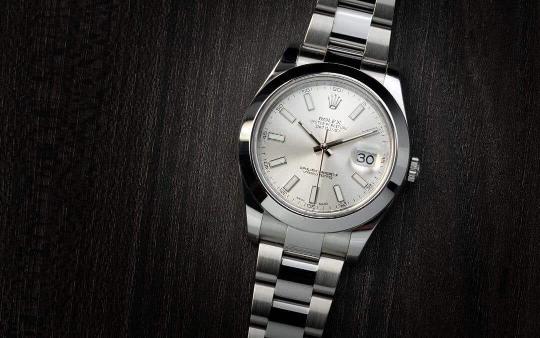Rolex Date Just II in acciaio Ref. 116300