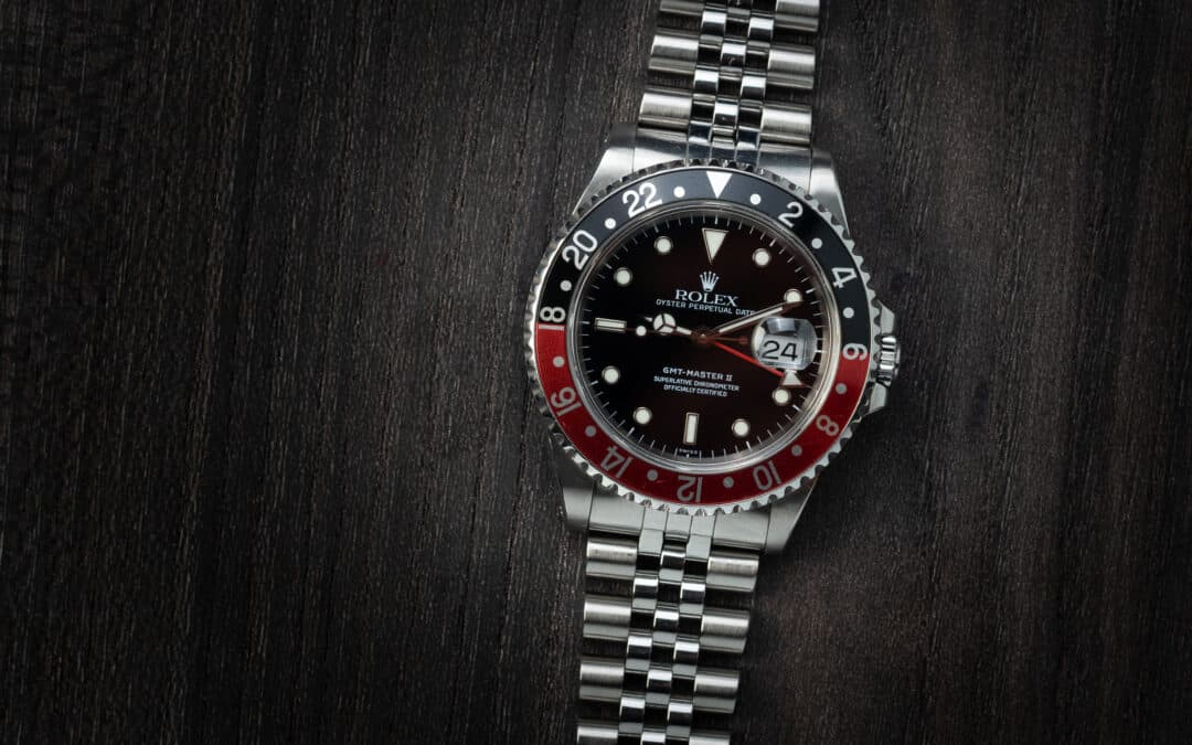 Rolex GMT Master II in acciaio Ref. 16710