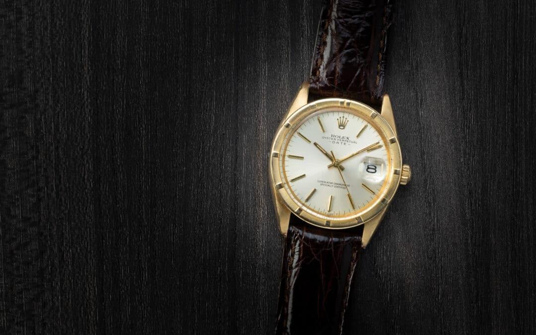 Rolex Date in oro giallo 18kt Ref. 1501