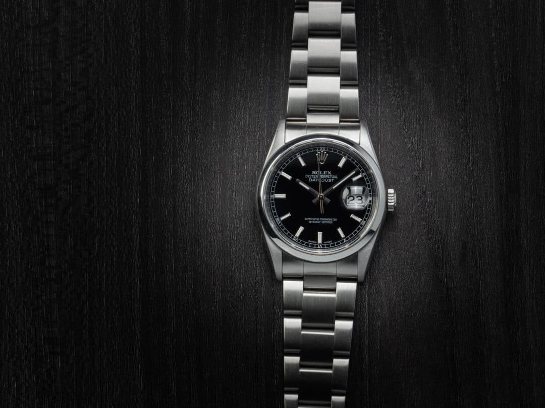 Rolex Date Just in acciaio Ref. 16200