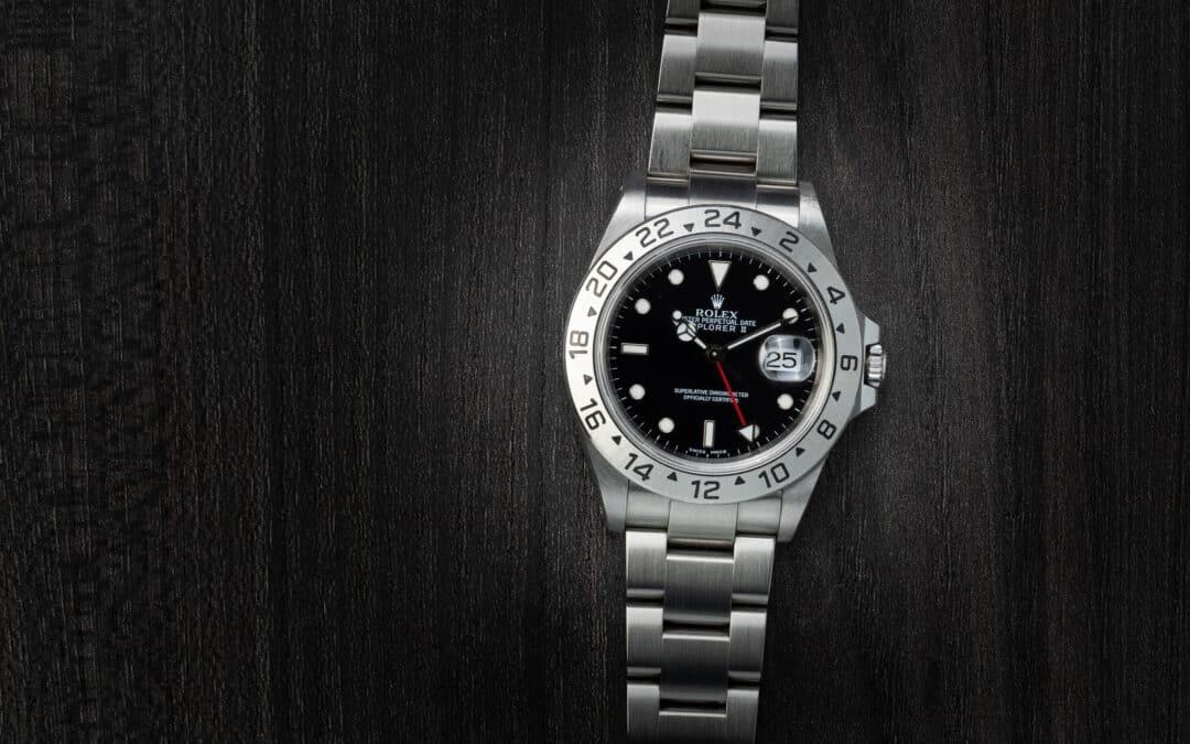 Rolex Explorer II in acciaio Ref. 16570