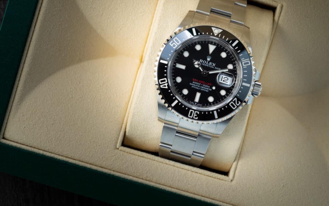 Rolex Seadweller in acciaio Ref. 126600