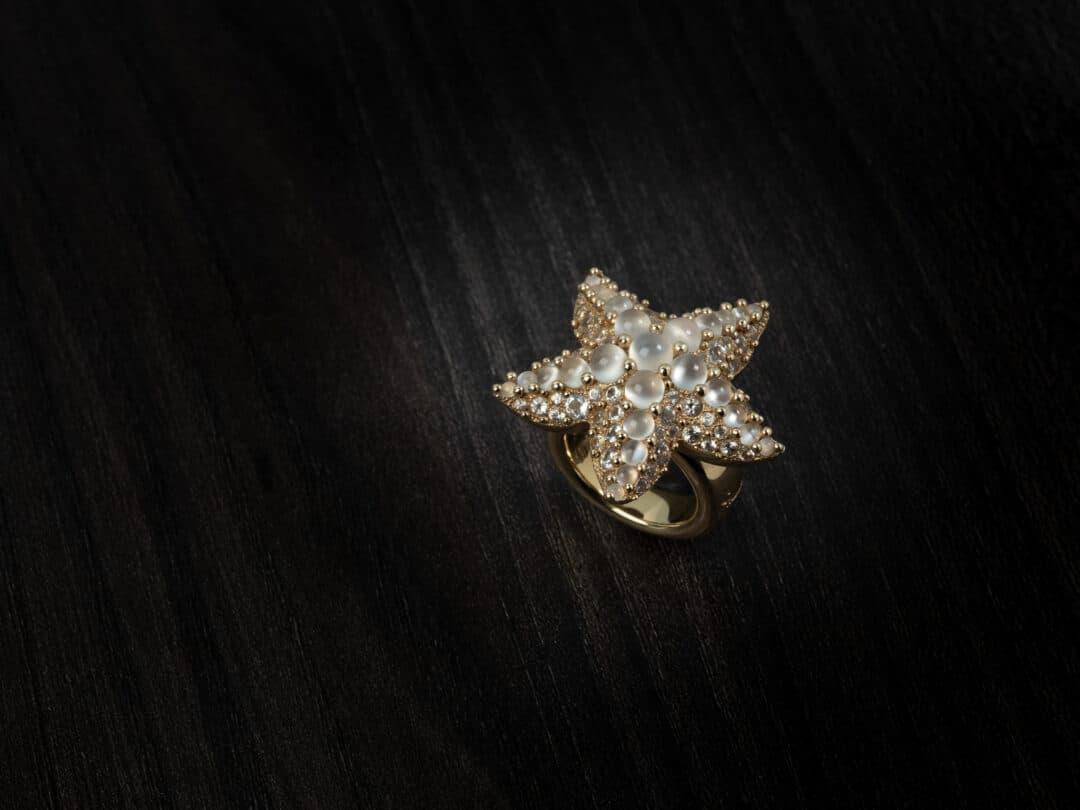 """Anello in oro bianco firmato Pomellato """"Sirene"""""""