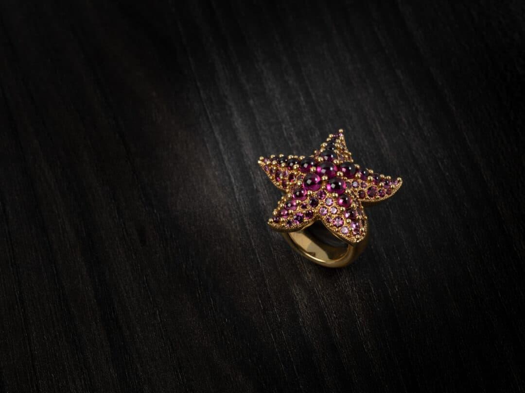 """Anello in oro rosa firmato Pomellato """"Sirene"""""""